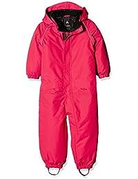 NAME IT Nitwind M Snowsuit Raspberry Fo 316, Traje De Esquí para Niños
