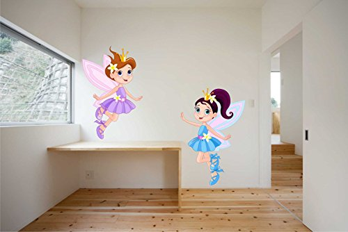 Rawpockets Two Kids Angels Wall Sticker