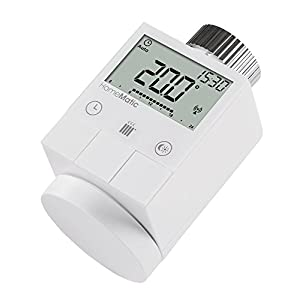 41Td5V3QSxL. SS300  - Homematic Smart Home Funk-Heizkörperthermostat, 105155