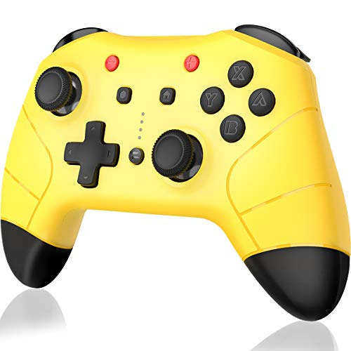 Controller für Nintendo Switch, BEBONCOOL Switch Controller 6-Achsen Somatosensory mit Dual-Motor, Switch Pro Controller Turbo Funktion Controller Switch Zubehörsets für Nintendo Switch (Spielen 3 Controller)