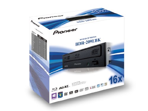 Pioneer BDR-209EBK 16x BDRW Multilayer 128GB Retail