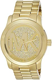 Michael Kors Womens Quartz Watch, Analog Display and Stainless Steel Strap MK5706