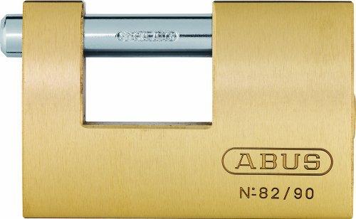 ABUS 11492 Monoblock Brass Shutter Padlock by ABUS KG