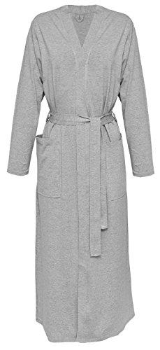 DKaren-Nachtwäsche Damen Morgenmantel aus Viskose VIKI (XS - 2XL) (XL, (Schwanger Bodysuit)