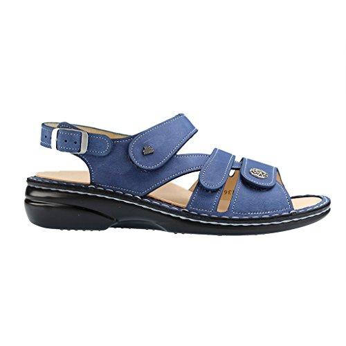 Finncomfort Gomera 2562373097 Sandales Bleues Pour Femmes