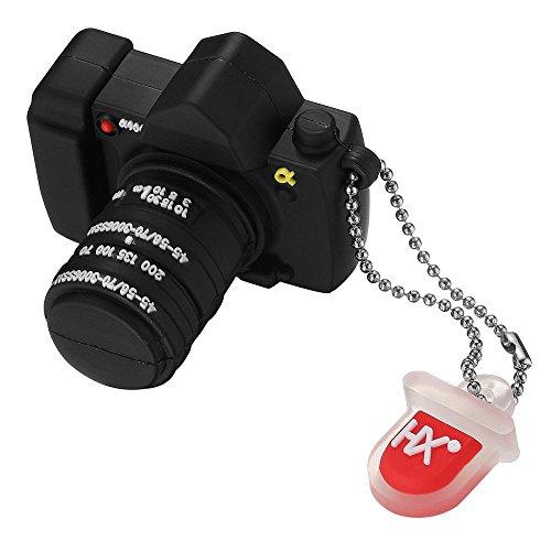 Leaders chiavetta usb 2.0 da 16 gb memoria usb flash drive pendrive a forma di macchina fotografica