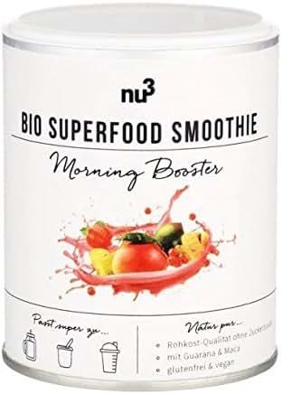 nu3 Smoothie Superfood Bio Morning Booster sans Gluten 150 g