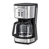 ماكينة تحضير القهوة بقوة 900 واط قابلة للبرمجة من بلاك اند ديكر