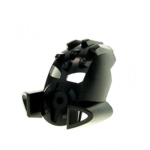 Bausteine gebraucht 1 x Lego Bionicle Figur Kopf Maske schwarz Kanohi Mask Mask Ruru ( TOA Metru ) Whenua 8603 47302