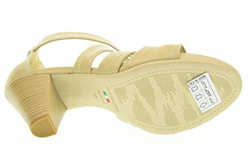 NERO GIARDINI donna Sandalo con tacco medio P615551D/410 sabbia Sabbia