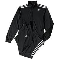 Adidas - Tuta da ginnastica Entry modello da uomo - Nero (Nero - nero) - 8