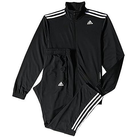 adidas TS Entry - Chándal para hombre, color negro / azul / blanco, talla 180