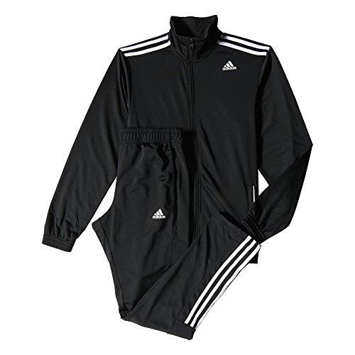 adidas Herren Trainingsanzug Entry, schwarz/weiß, 7, S22636