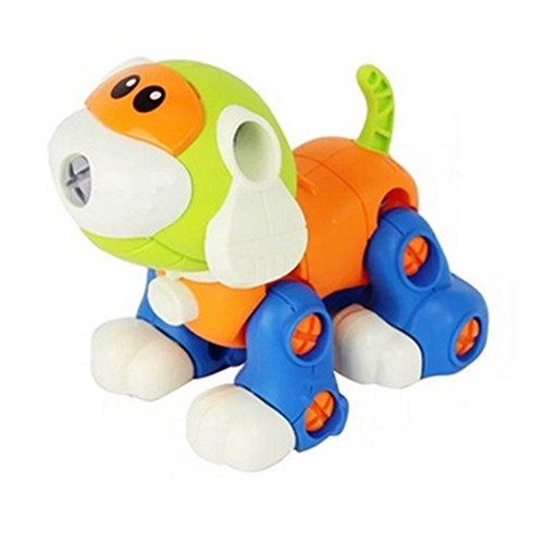 Hilai Disassemblieren Spielzeug, assemblydismantling Spielzeug für Kinder, Machen Sie Ihren eigenen Hund Spielzeug Abbau Spielzeug