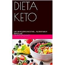 DIETA KETO: LAS 10 MEJORES RECETAS… NUTRITIVAS Y SENCILLAS