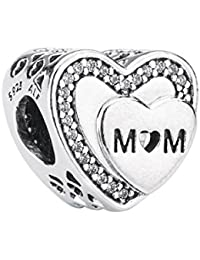 Pandora Damen -Bead Charms 925 Sterlingsilber 792070CZ