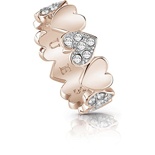Ring Damen Schmuck Guess Heart Bouquet Trendy Cod. ubr85025-52