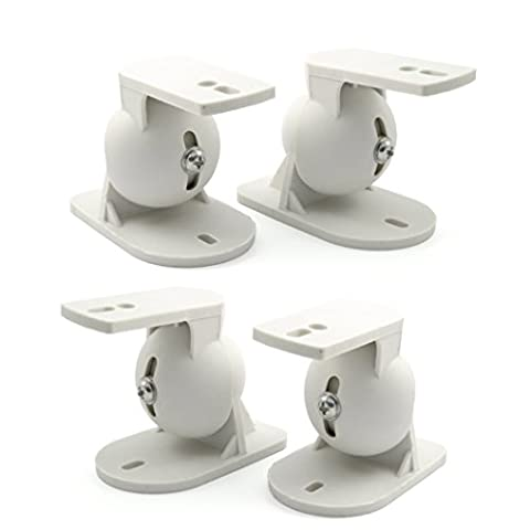 Incutex 4 Pieces Stereo Speaker Wall Mount speakers - Universal