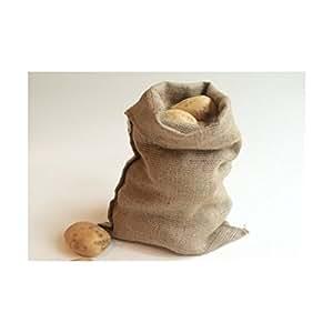 nutley 39 s sac de rangement en toile de jute pour pommes de terre oignons l gumes taille s 45 x 30. Black Bedroom Furniture Sets. Home Design Ideas