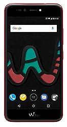 Wiko U Pulse Lite Smartphone (13,2 cm (5,2 Zoll HD), 32 GB ROM/3 GB RAM) cherry red