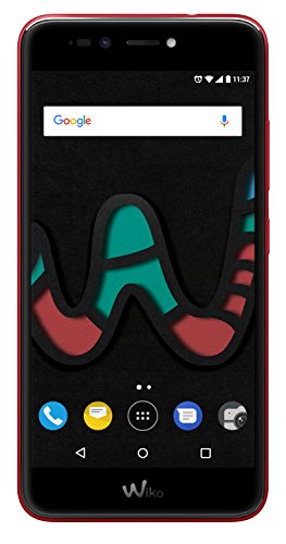 Wiko U Pulse Lite Cherry Red (Smartphone, 5,2 Zoll HD, 13 MP Kamera, 8MP Selfie-Kamera, Android, Fingerabdruck, 32GB ROM/3GB RAM, Quad-Core CPU, 4G, Dual-SIM, Speicher erweiterbar um bis zu 128GB, Cherry Red)