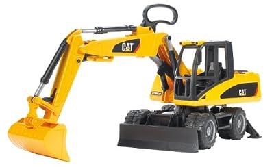 Bruder 02445 CAT Caterpillar - Pala excavadora de Bruder