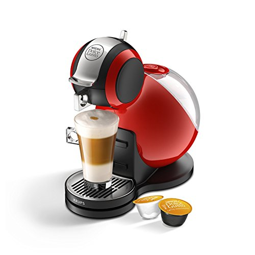 Krups NESCAFE Dolce Gusto Melody 3 Manual Coffee Machine by Krups - Red