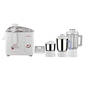 Greenline 3 Jar Juicer Mixer Grinder with Seed Collector