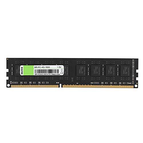 mory Stick,4G 1600 MHz DDR3 1,5 V PC12800 Speichermodul,Desktop Computer Speicher RAM Modul mit besserer Datenübertragungsrate/1600 MHz Arbeitsfrequenz ()