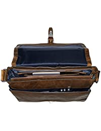 "Jost Messenger Bag L 15"" Glasgow Christmas Edition Leather l"