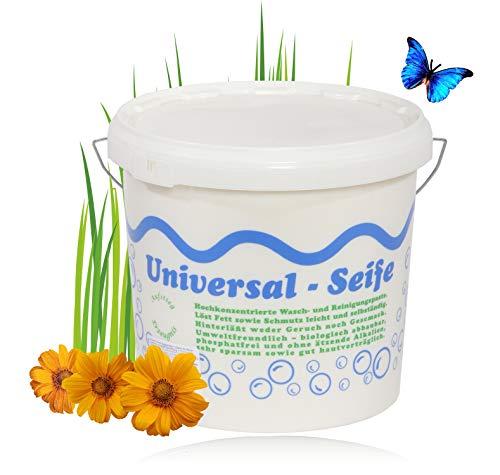 Aufstieg Qualität Universalseife 5 kg Eimer Pastös | Neutralseife | Universalreiniger für Haushalt und mehr | Hochkonzentrierte Wasch- und Reinigungspaste | PH-neutral | Biologisch abbaubar