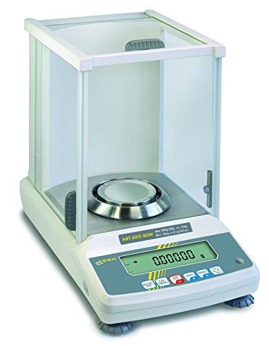 For Demand wlac220d Serie ABT Bilancia AnalÍtica, 1mg valore di omologazione, 80mm Diametro piattaforma, 1mg-82/220g scuola di pesaje, 0.00001/0.0001g graduati - Analytical Balance