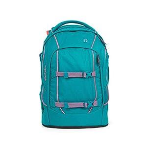 satch Pack Ready Steady Rucksack Freizeit und Sportwear Unisex Kinder Petrol Pink (Mehrfarbig), Einheitsgröße
