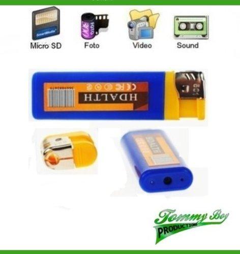 Feuerzeug Kamera blau mini DV mini Kamera spy cam