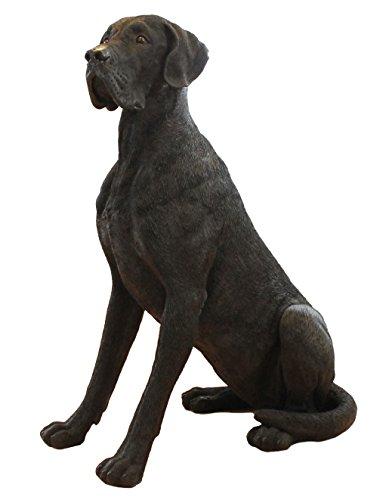 """XL Dekofigur Deutsche Dogge """"Herkules"""" Hundefigur Tierfigur Hund Figur Gartenfigur"""