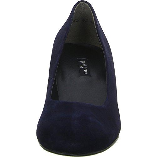 Paul Green, Scarpe col tacco donna blu blau Blau