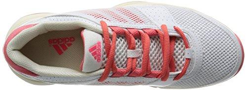 adidas Barricade Team 3 W, Chaussures de tennis femme Blanc (Ftwbla/Poppnk/Ivoire)