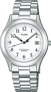 [Aruba] ALBA AIGT016 White Mens Watch (japan import)