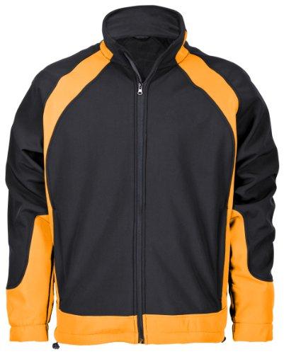 Markenprodukt 9312-0-119-S Softshelljacke Solution, schwarz/orange S