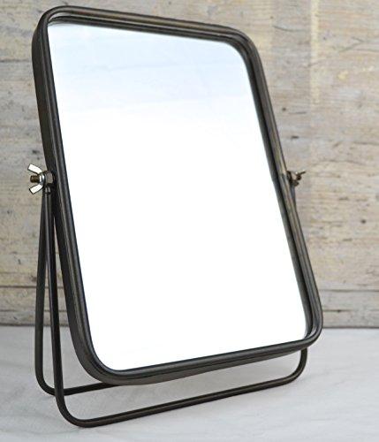 Tischspiegel im Vintage Shabby Stil. Farbe: Antik Messing brüniert. Spiegel im antiken Landhaus...