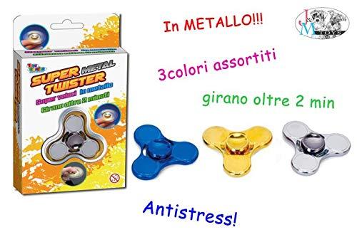 Toys Garden Srl Gadget Spinner Metal Ass. 26666,, 851031