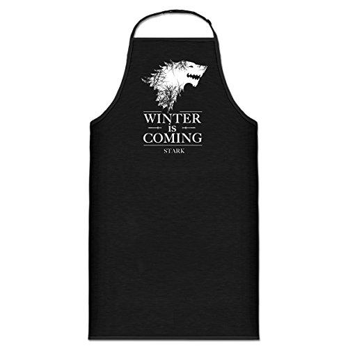 Delantal de cocina Winter is Coming by Shirtcity
