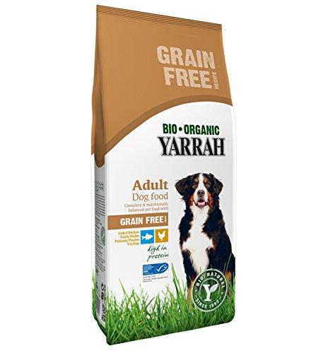 YARRAH Bio Hundefutter Huhn und Fisch, 1er Pack (1 x 10 kg)