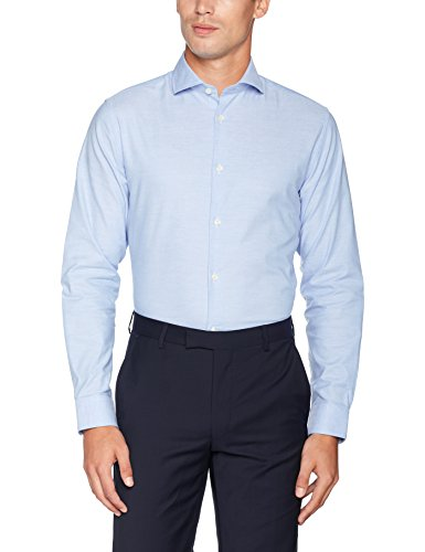 SELECTED HOMME Shdtwosel-Sun Shirt LS Noos, Camicia Formale Uomo Blu (Light Blue)