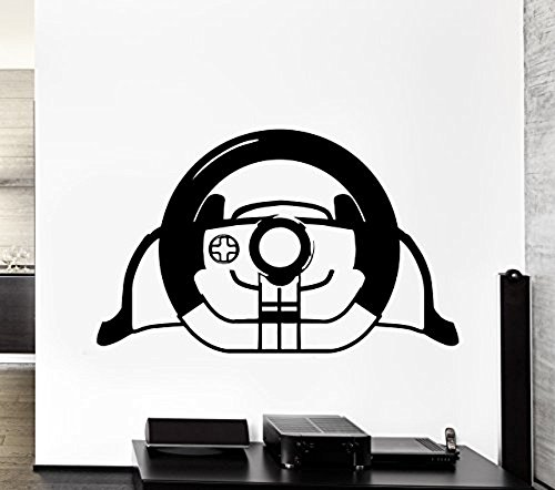 GGWW Wall Decal Game Gamer Joystick Game Room Vinyl For