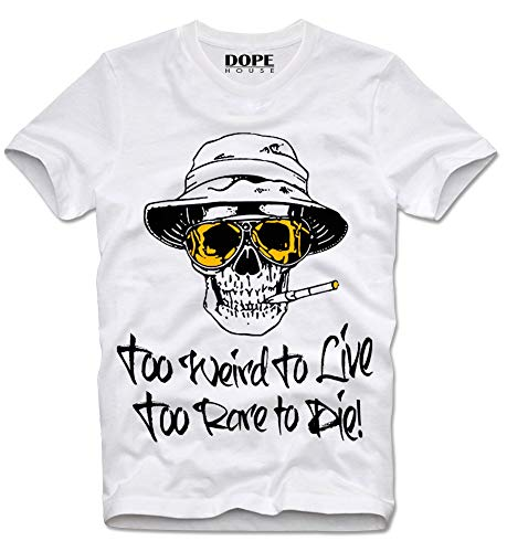 Too Weird to Live Too Rare to Die T-shirt 100/% Premium Coton Hunter S Thompson