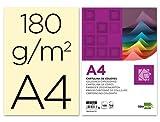Liderpapel Cartulina A4 180G/M2 Crema Paquete De 100