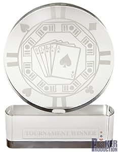 Trophée de Poker Rond