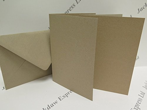 25-x-recycled-single-fold-kraft-card-280gsm-matching-100gsm-gummed-envelopes-7-x-5