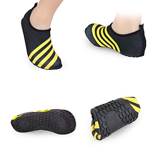 Eastlion Adult Größe Tauchen Schuhe weiche bequeme Schuhe Barefoot Beach Gym Yoga Schuhe Style 2